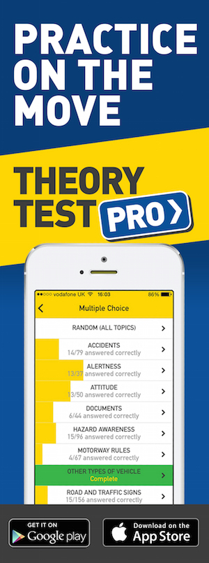 Theory Test Pro in partnership with FDS